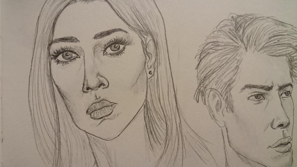 Sketchbook study by Jasika