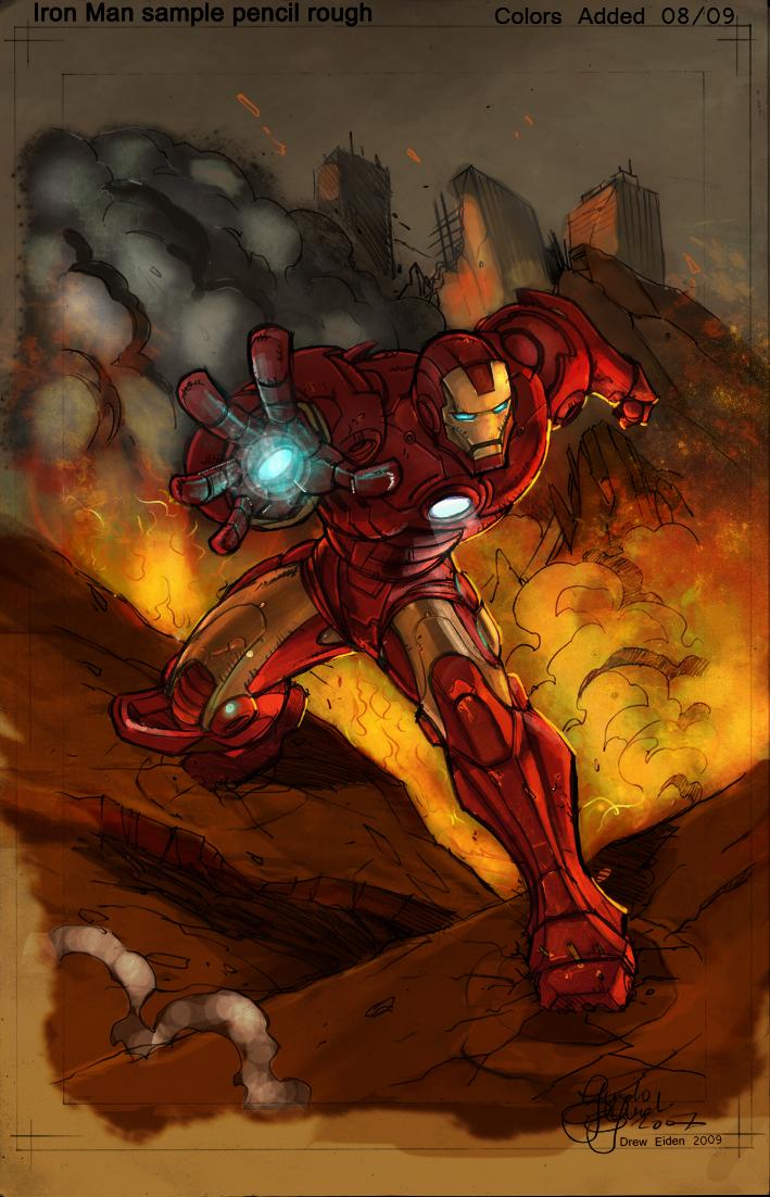 Iron Man by DrewEiden