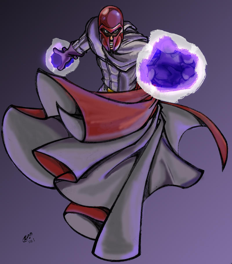 greatLP's Magneto by kerfufflecolor