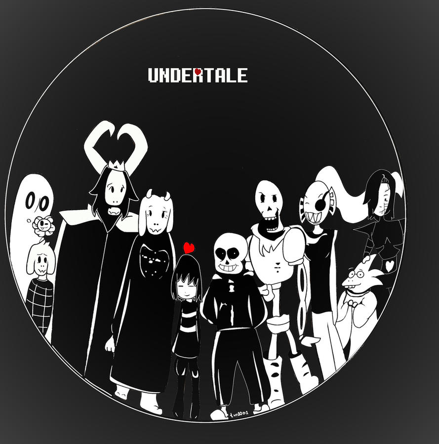 Undertale by tvr2002