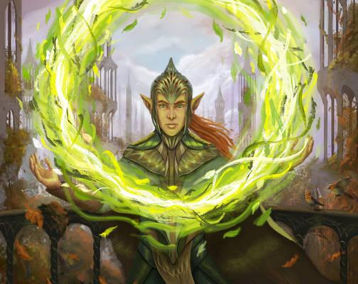 Selesnya Druid