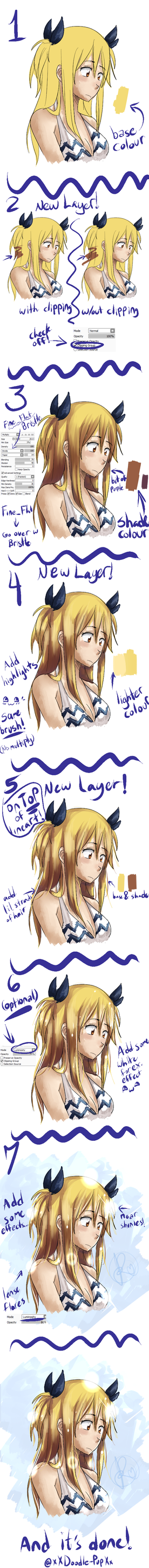 Hair coloring Tuto -new- by Jaymeri-kun