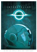 Interstellar Movie poster by igorcampos