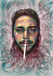 Coloured Posty