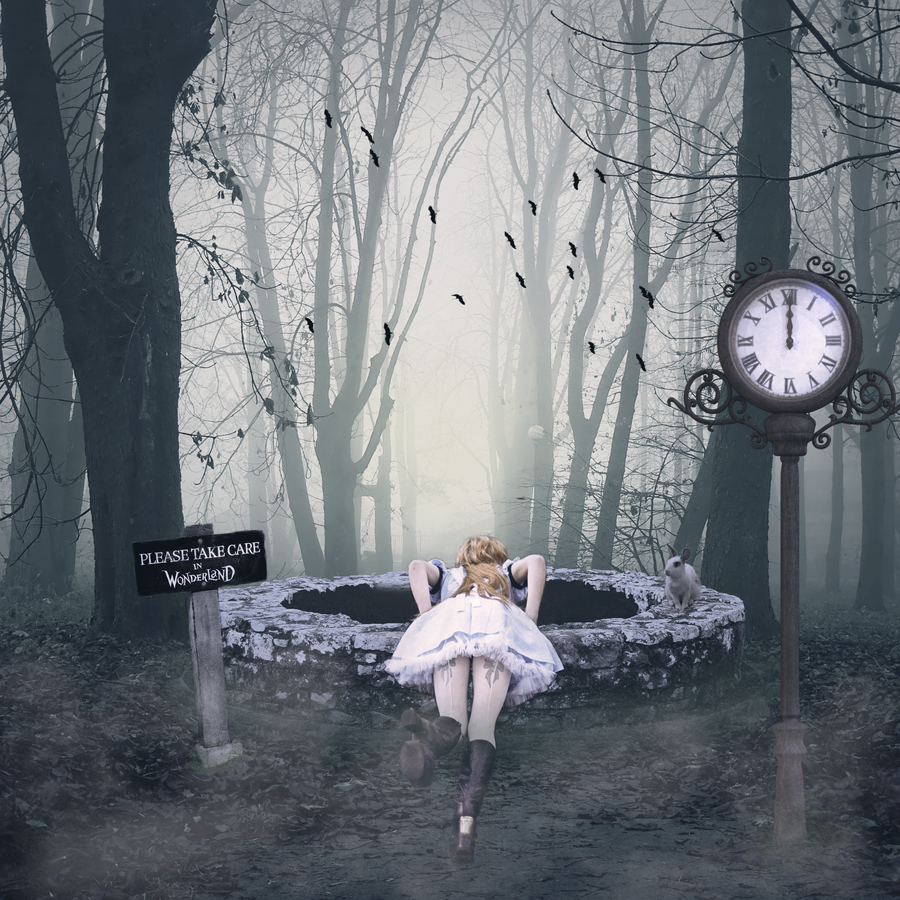 Down the Rabbit Hole by Vampiric Time Lord on