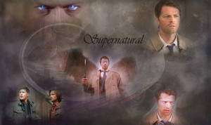 Castiel Returns - Wallpaper by Vampiric-Time-Lord