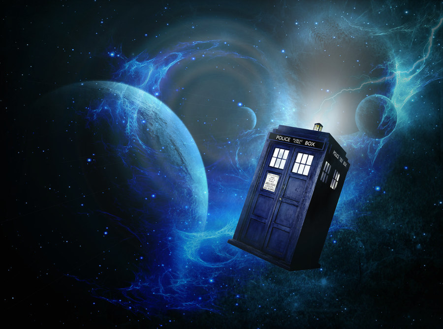 Tardis Wallpaper - DW by Vampiric-Time-Lord