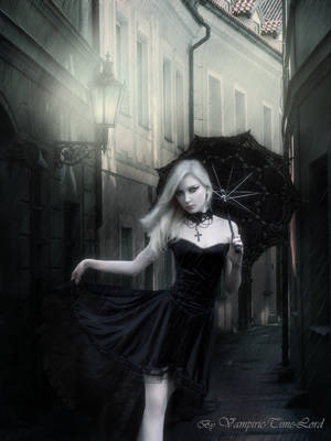 Gothic Streets by Vampiric-Time-Lord