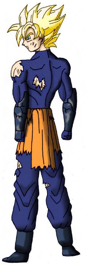 Goku, the Gentle Warrior who..