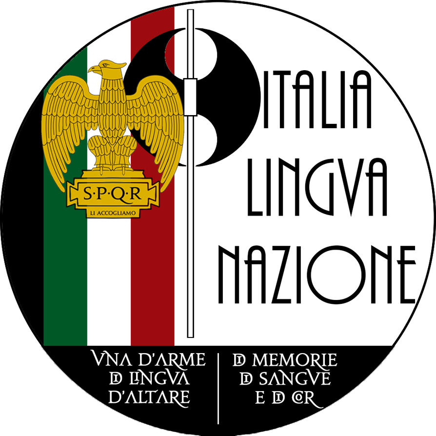 Symbol for italia lingua nazione by jacvan89 on deviantart symbol for italia lingua nazione by jacvan89 biocorpaavc Choice Image