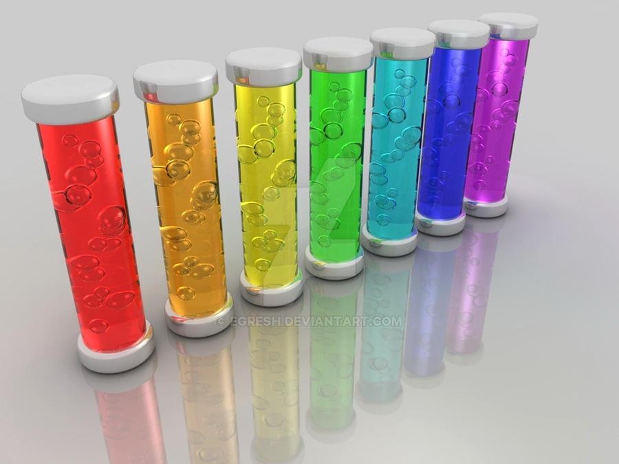 Rainbow tubes by egresh