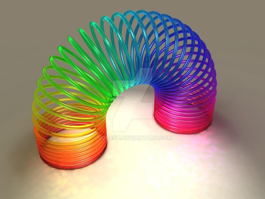 Rainbow spiral by egresh