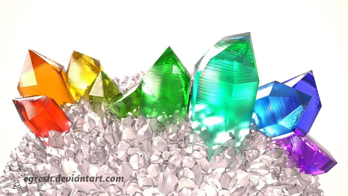 Rainbow Crystal by egresh