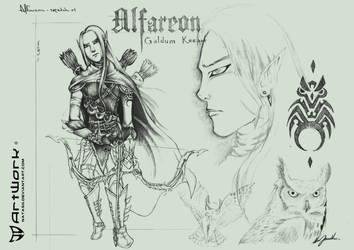 Alfareon sketch 1 by natas88