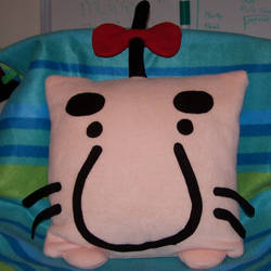 Mr Saturn Pillow by obesolete