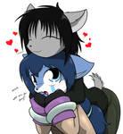 huggy hug hugs huggness