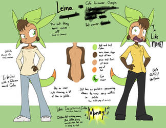 Reference sheet of a coffee aficionado by Sandwich-Anomaly