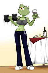 Weights and Fine Wine