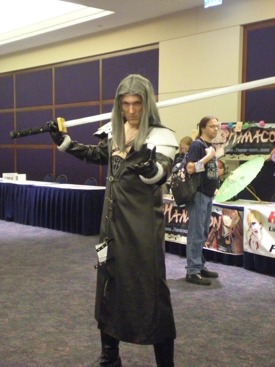 Sephiroth of AWA 17 by Mariogal