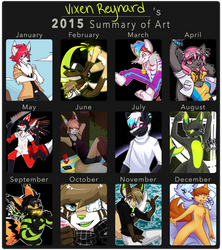 2015 Summary Of Art by foxsnacks