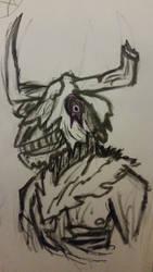 Zombie Minotaur Sketch  (January 2020)