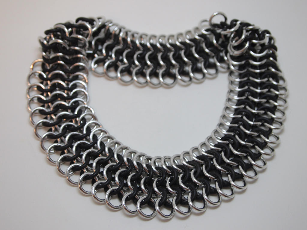 chain black platted silver white two design necklace sterling jewellery herringbone flat wide italian tone wedding embossed shinny