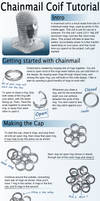 Chainmail Coif Tutorial