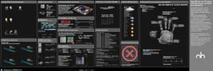 Realistic System Monitor BG v3 by mbgd