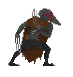 Dark Souls 2 character by corrosianSynoptic