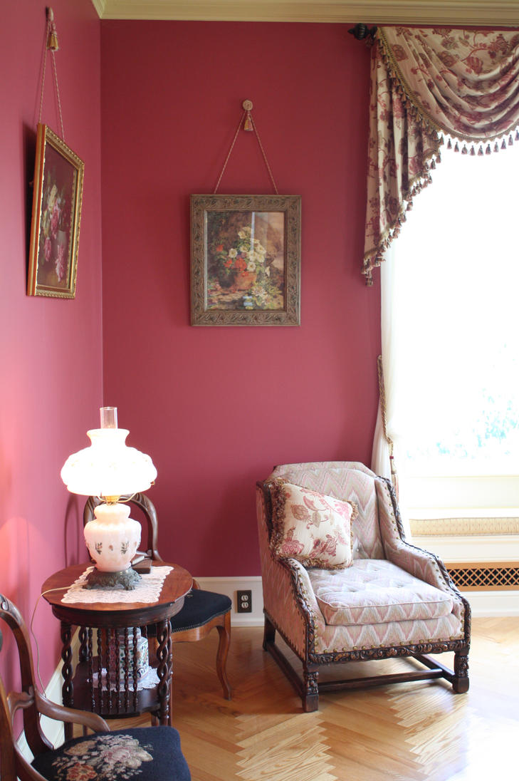 Victorian Drawing Room: [I008] Boldt Castle Victorian Drawing Room By MANGO-stock