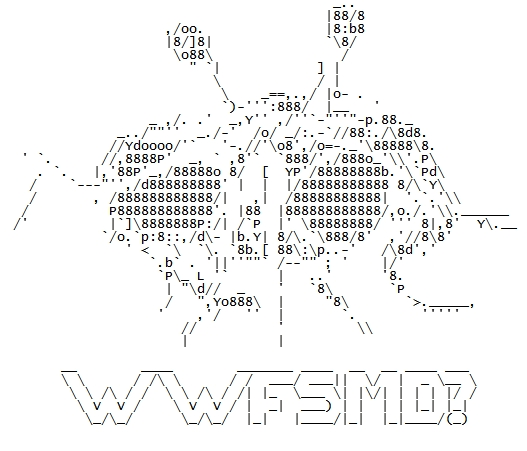 Flying Spaghetti Monster ASCII by dan551x