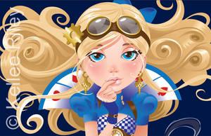 Alice - WIP by KelleeArt