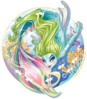 Siren of the Sea by KelleeArt