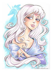NYCC Commish Amalthea by KelleeArt