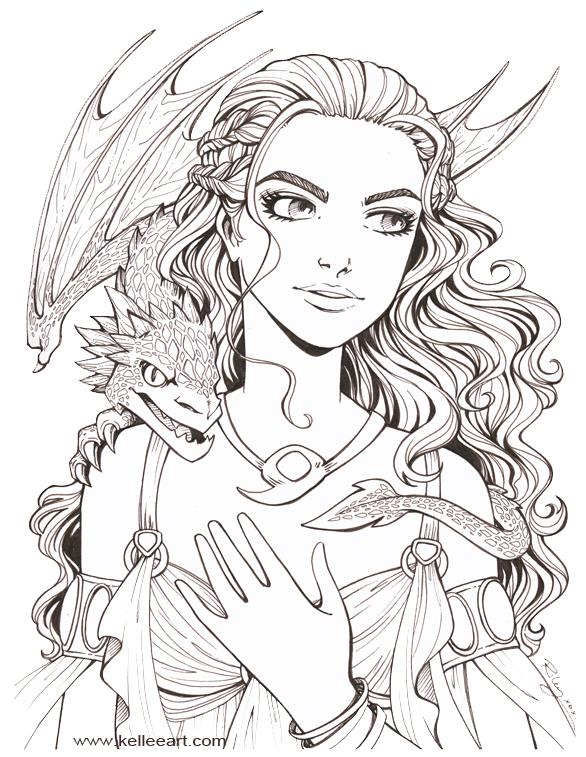 Dragon Mother by KelleeArt