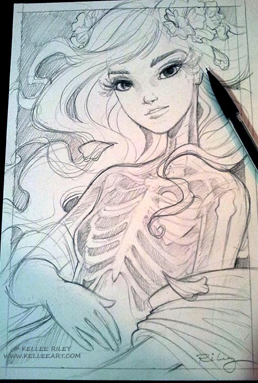 Untitled sketch by KelleeArt