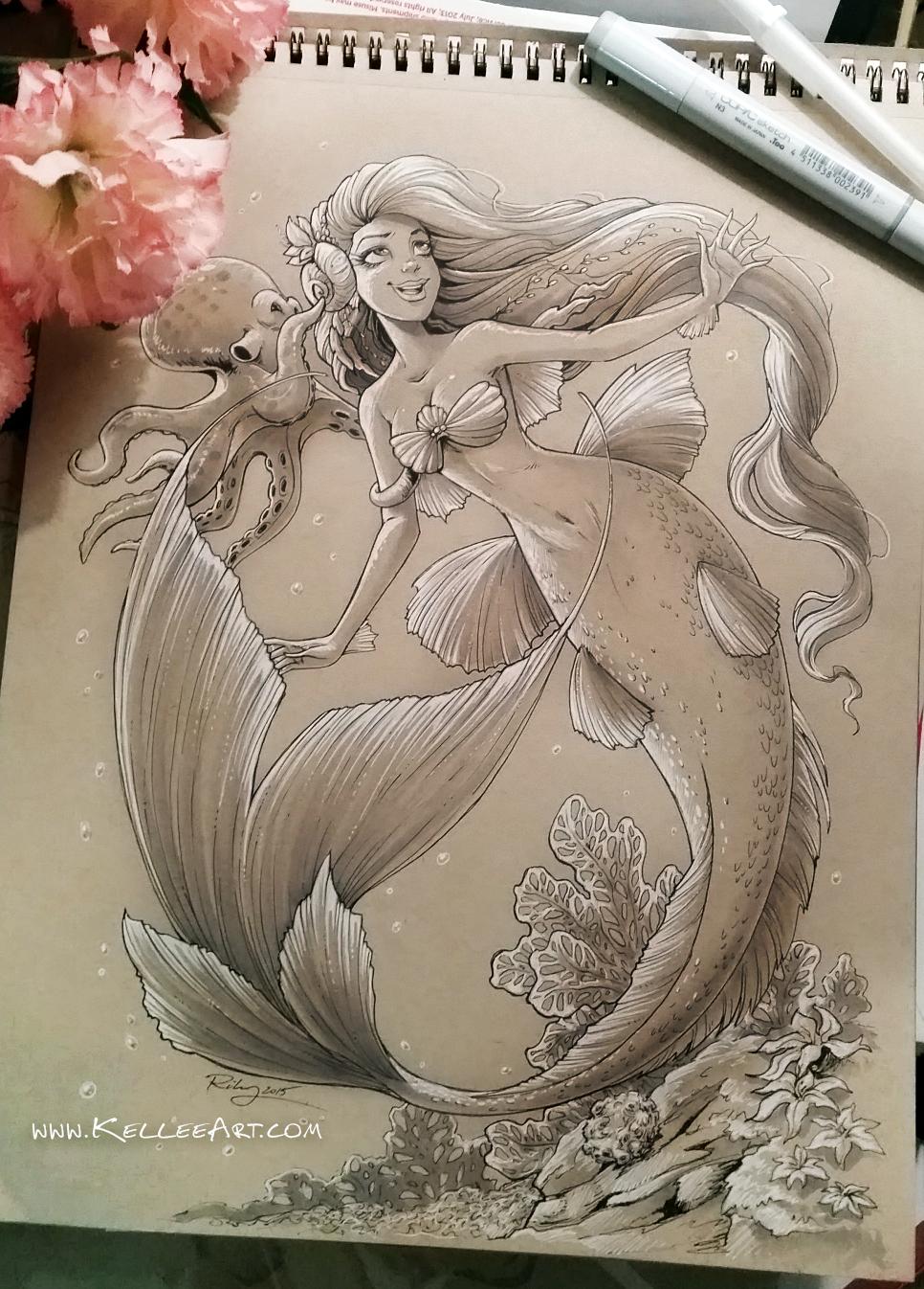 Mermaid 3 By KelleeArt On DeviantArt