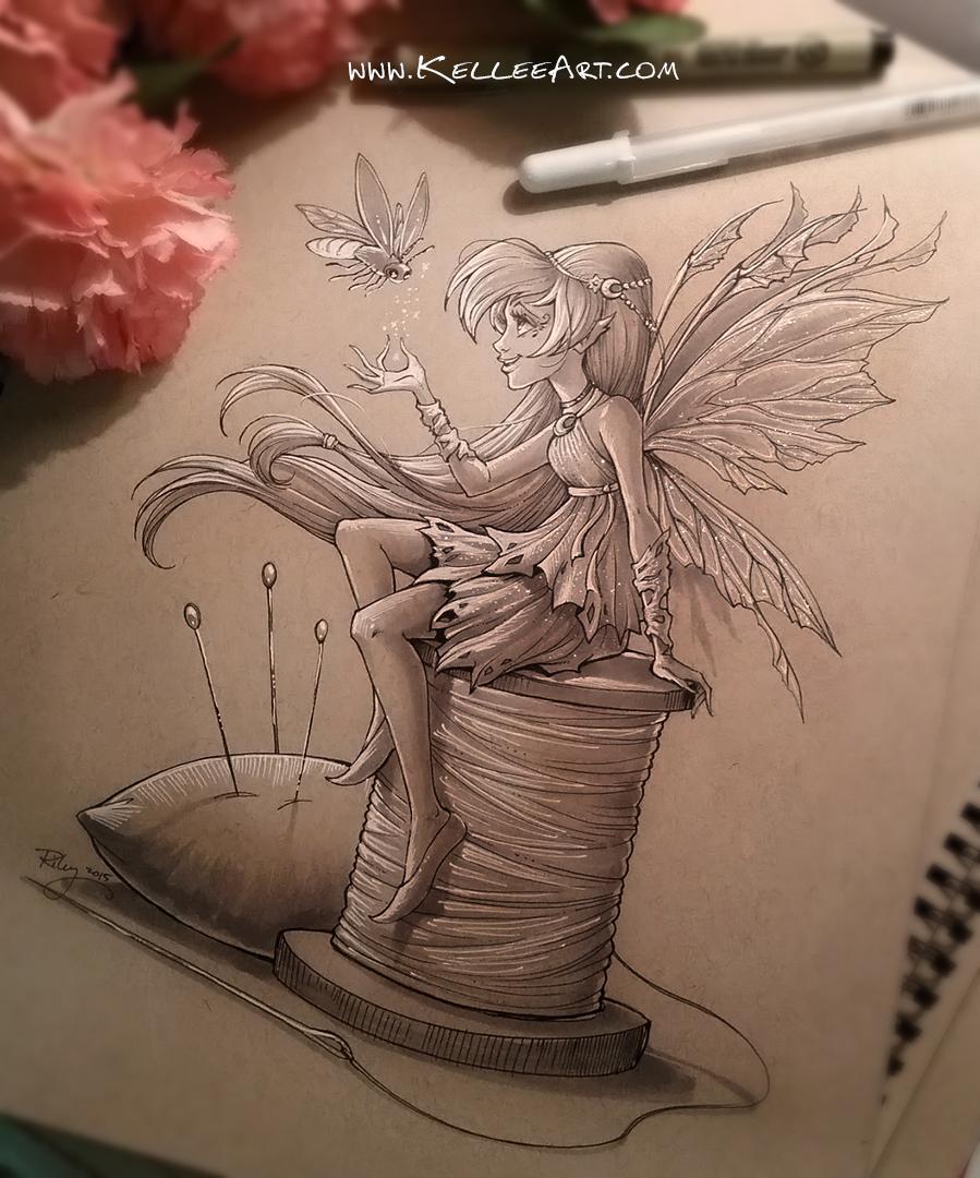 Fairy 1 by KelleeArt