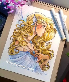 Fairy girl commission