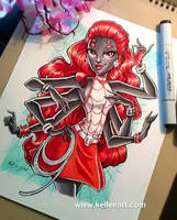 Webarella commission by KelleeArt