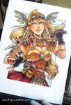 Steampunk Valkyrie Commission
