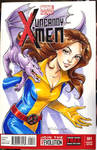 Kitty Pryde X-Men Sketch Cover Commission