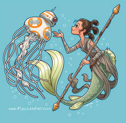 Star Wars Merms by KelleeArt