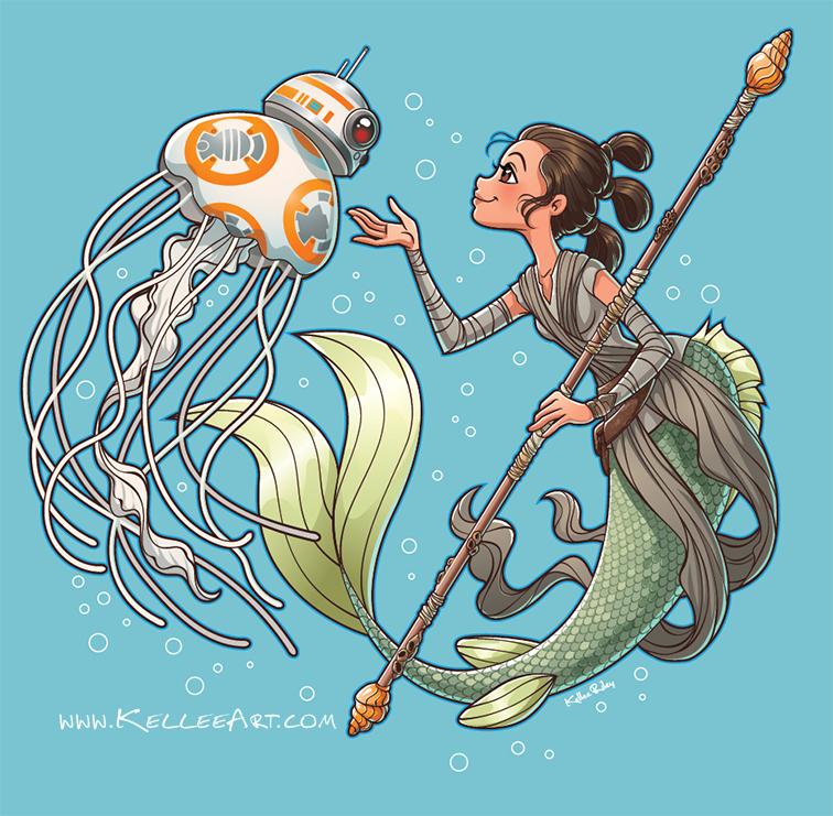 Star Wars Merms by KelleeArt
