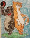 Ev'rybody loves a swingin' cat by MissMartian4ever