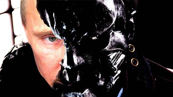 Putin The Bullet Man by JurassicPony