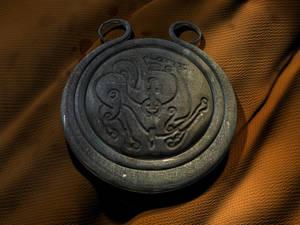 Wolf guard amulet