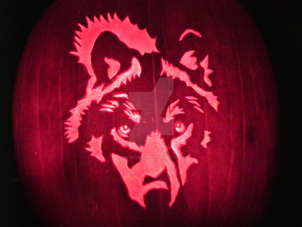 Wolf pumpkin carving by darkartdesigns on deviantart wolf pumpkin carving by darkartdesigns pronofoot35fo Choice Image