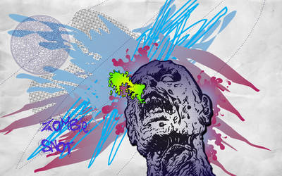 zombie snot by sin-drome