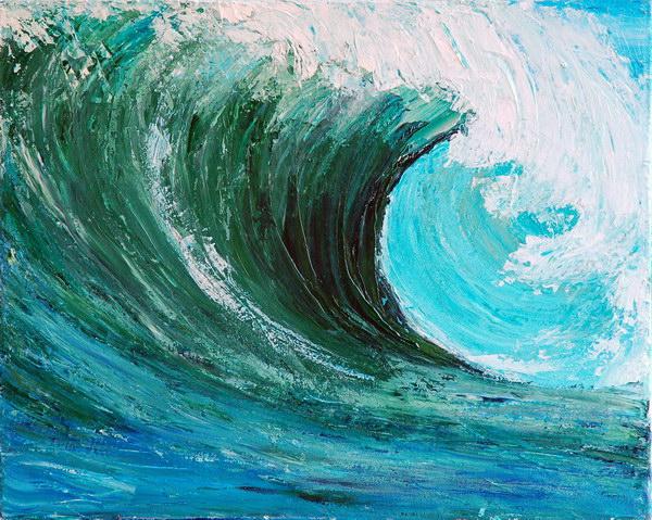 THE WAVE by ARTBYTERESA